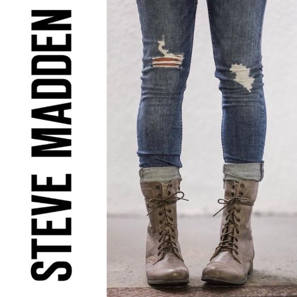 39499acfd49 Steve Madden Troopa Kombat Boot